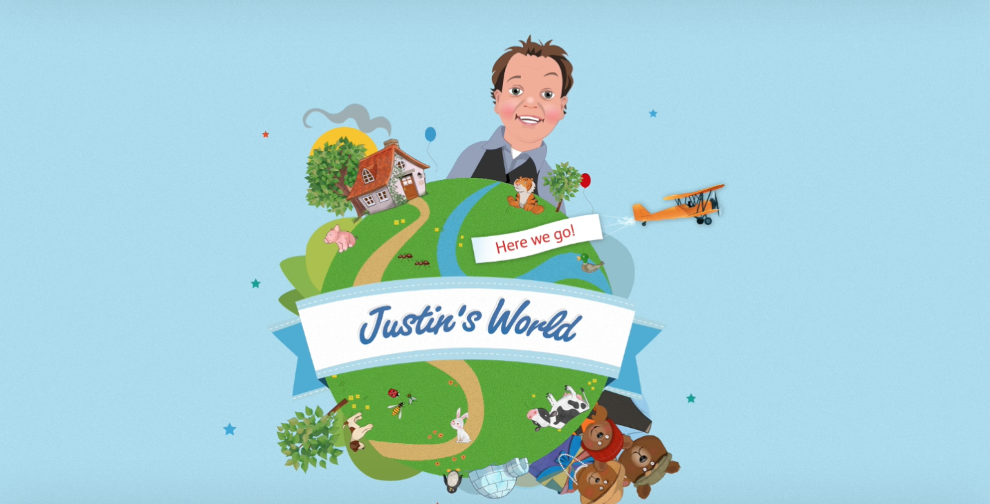 Kids Apps - Justin's World - Pre-school app