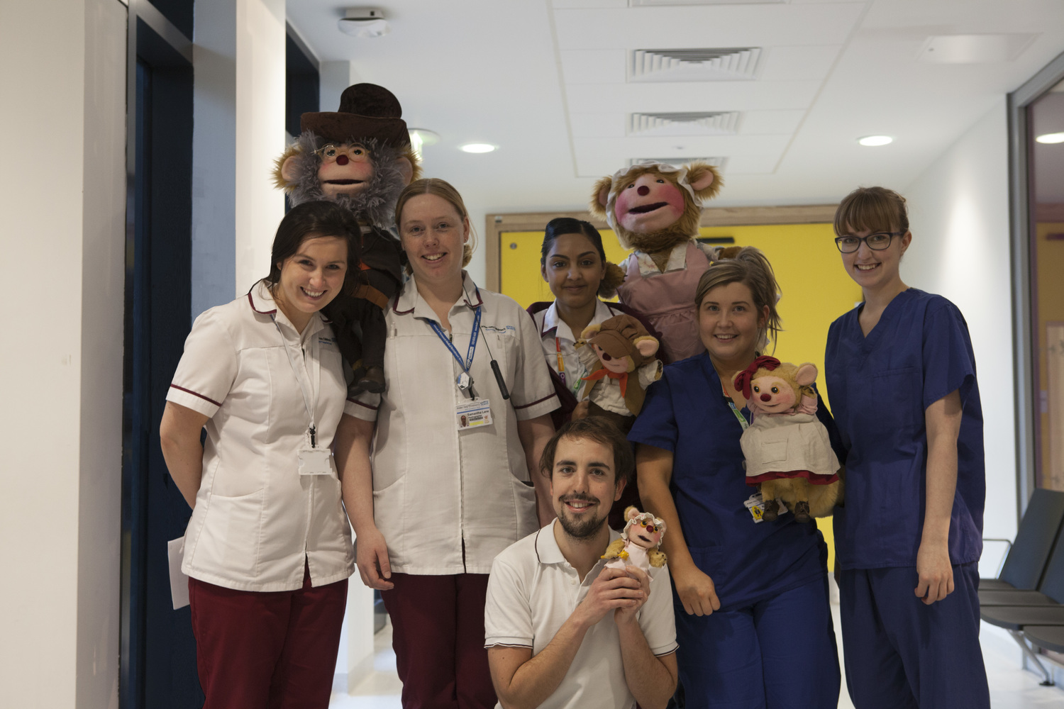 Alder Hey Staff with Hardleeys