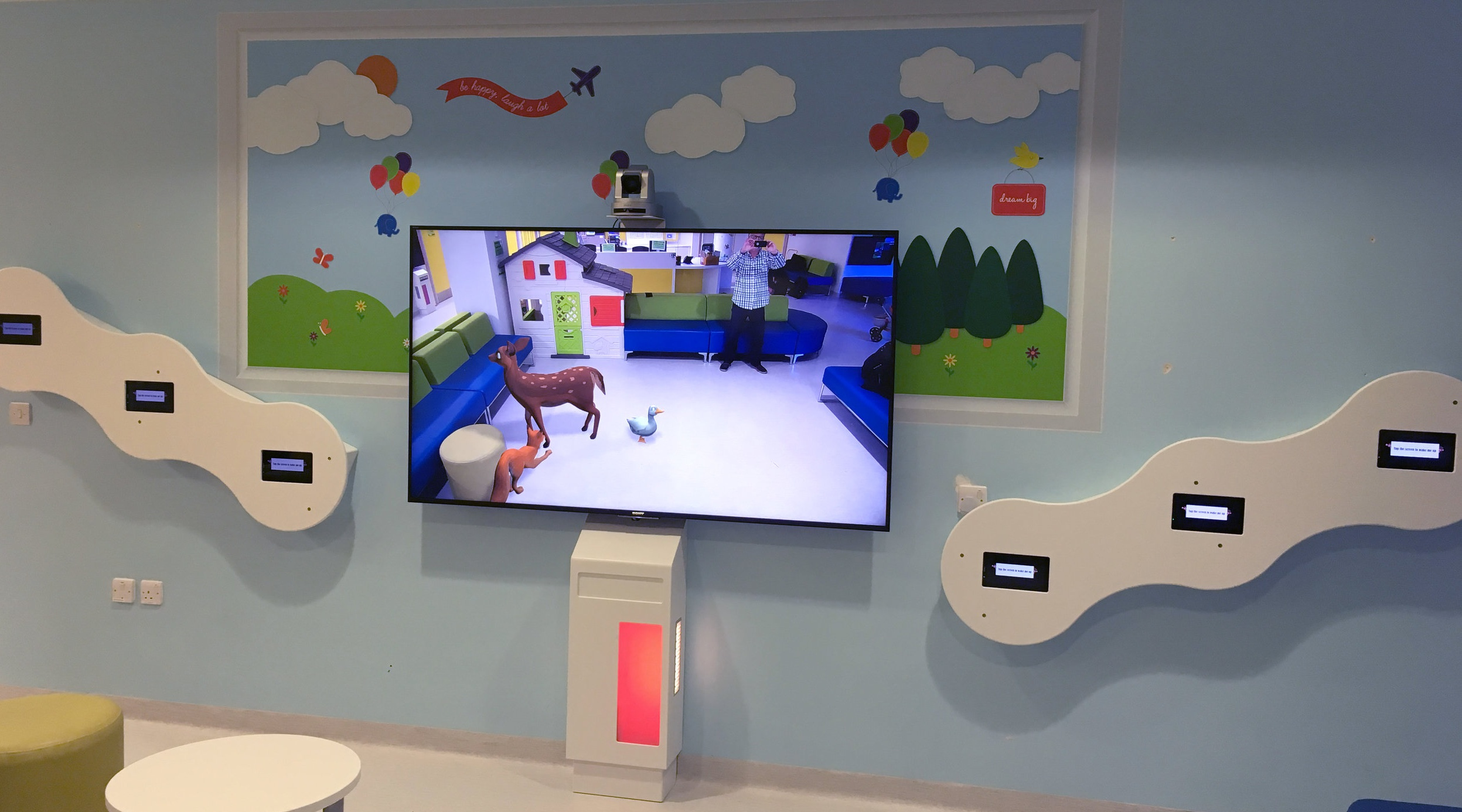 Interactive Games in Bespoke Wall Units