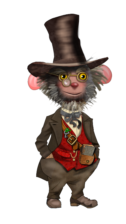 Isambard the Inventor - a Character created by Jungle Interactive