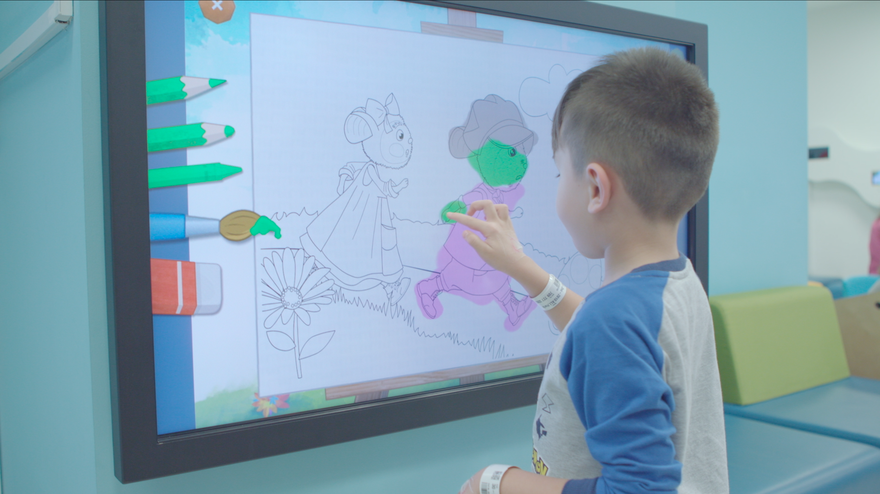Large Touchscreen Games for all ages