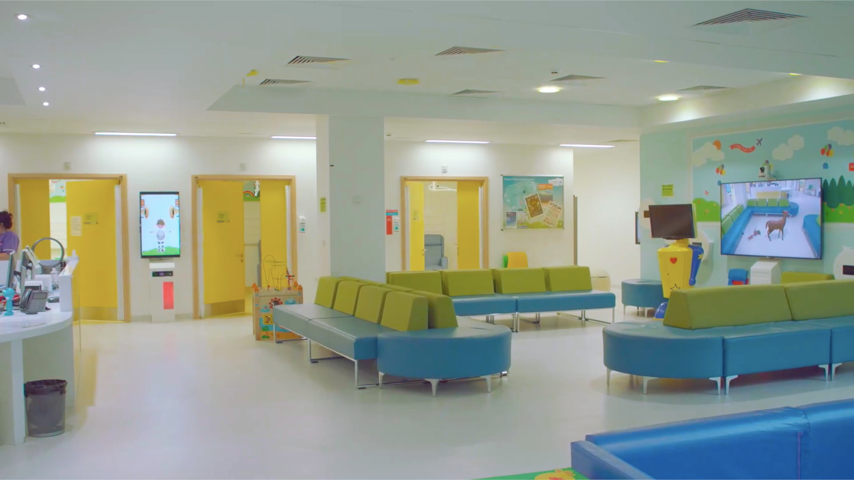 Alder Hey In-Patient Waiting Area