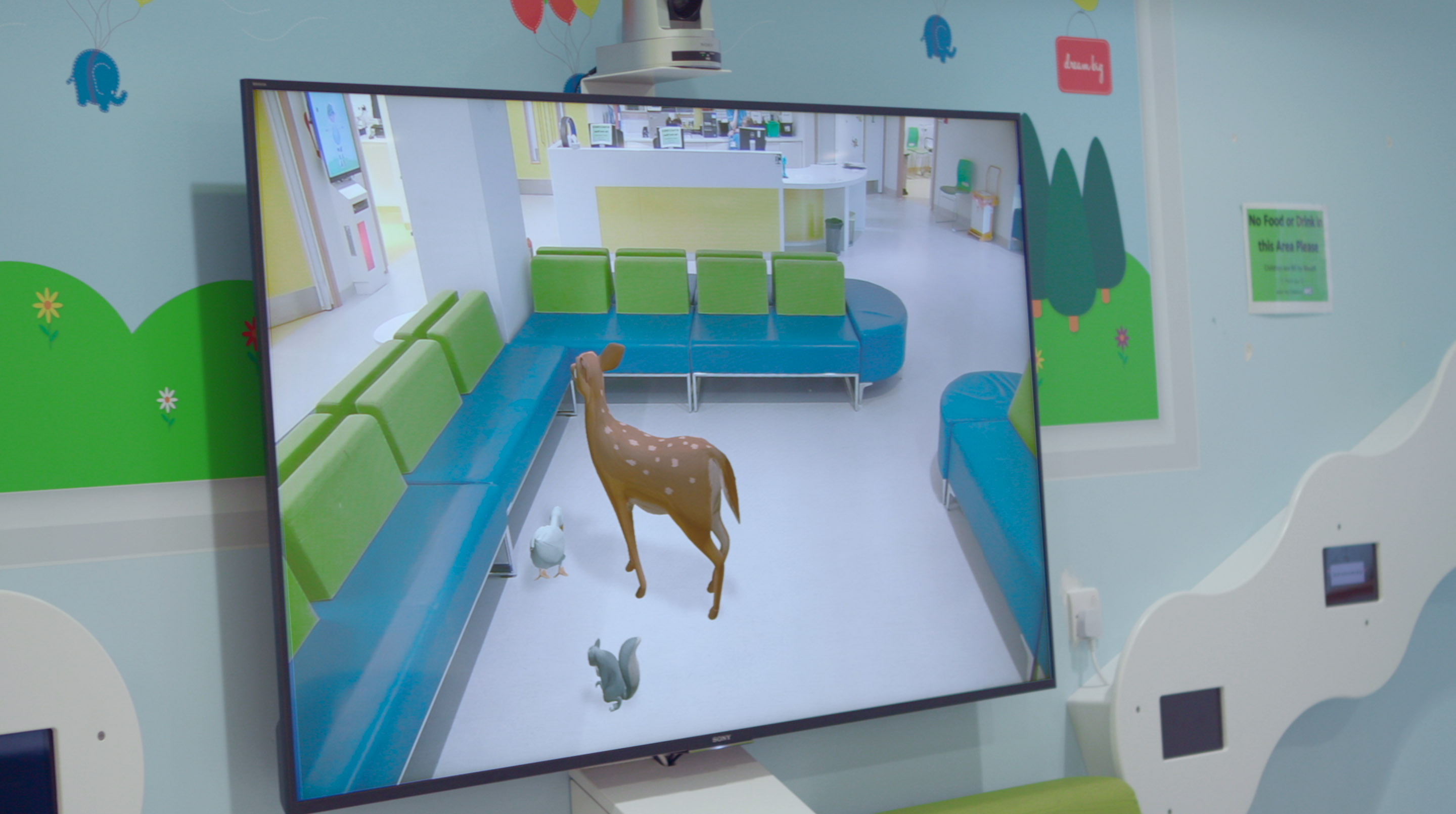 Augmented Reality Display with Forest Animals
